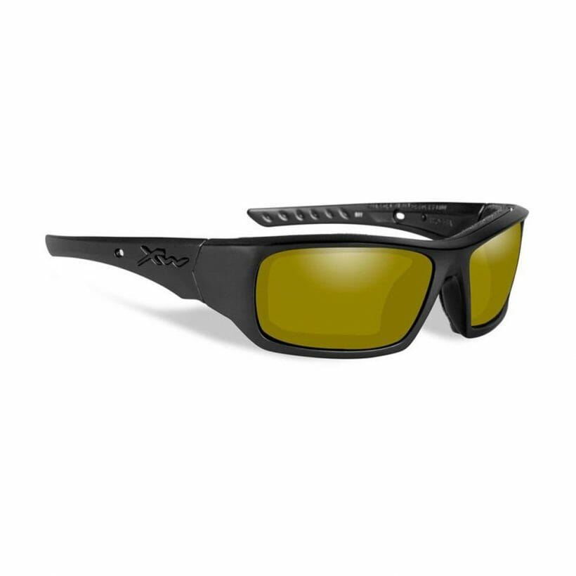 ARROW MATTE BLACK POL YELLOW LENS