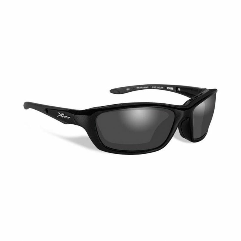 BRICK POL GREY LENS GLOSS BLACK FRAME