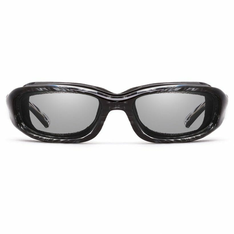 Sierra Black Stripe Clear Front