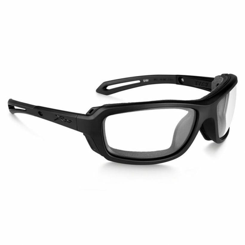 WAVE CLEAR LENS MATTE BLACK FRAME