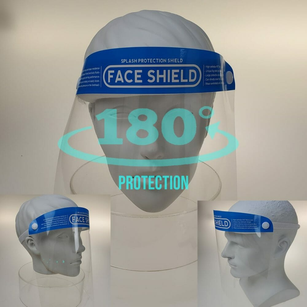 Bikershades.Face Shield Mask Protection Transparent