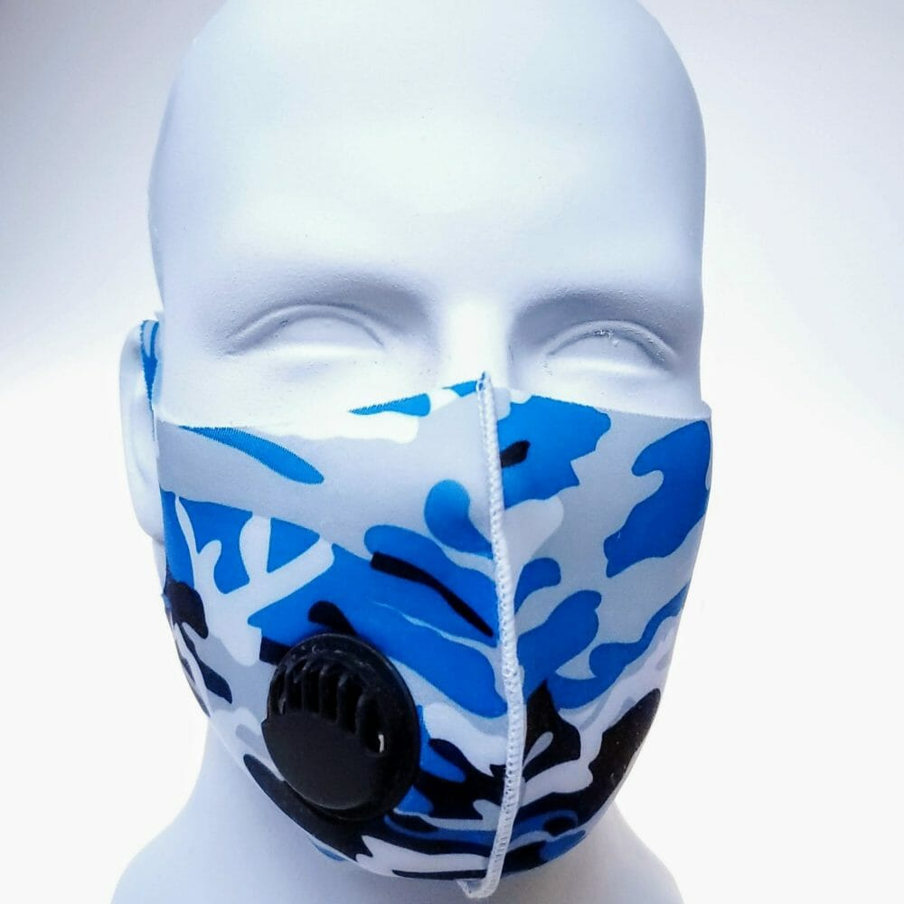 face mask camouflage color reusable ventilator bikershades.com