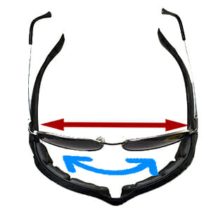 Bikershades Base Curve Comparison for Prescription motorcycle biker glasses