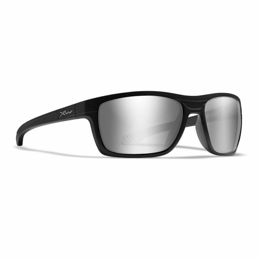 Kingpin Matte Black POL Silver